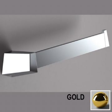 Sonia S8 Open Towel Bar Gold 164967